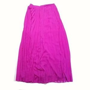 accordion pleated maxi skirt by Sparkle + Fade